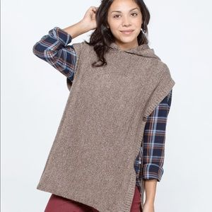Toad&Co Pico Poncho Sweater XS/S